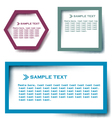 Text box vector image