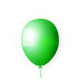 big green balloon vector image vector image