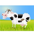 cute Cow Cartoon vector image vector image