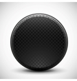 Dark circle made of metal grid design vector | Price: 1 Credit (USD $1)