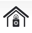 deodorant home icon vector image vector image