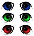 eyes illustration vector image