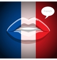 French language concept vector image vector image