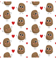 Potatoes seamless pattern vector image vector image