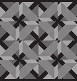 seamless lines pattern in black and gray color vector image vector image