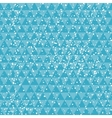 Tech blue on abstract geometric background with vector image vector image