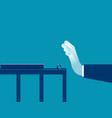 barrier stop business people to success concept vector image