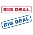 Big Deal Rubber Stamps vector image vector image
