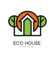 creative logo for specialist builders vector image
