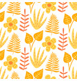 floral summer beautiful seamless pattern vector image vector image