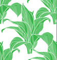 foliage seamless pattern 22 vector image vector image