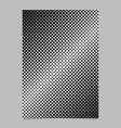 Geometrical halftone dot pattern background