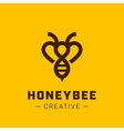Bee Logo template vector image