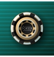 Casino background-Vintage style-Ace Vip casino vector image