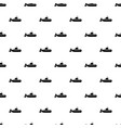 military submarine icon simple style vector image vector image