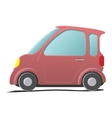 Mini car Single cartoon symbol vector image