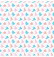 pastel abstract fin scale shapes blue pink vector image vector image