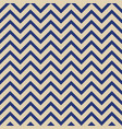 seamless fashion zigzag pattern vector image vector image