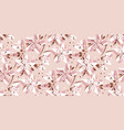 tender spring blossom flower seamless pattern vector image vector image