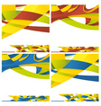 abstract backround of different colors vector image vector image