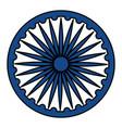 ashoka chakra indian emblem icon