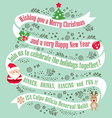 christmas card design background vector image vector image