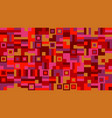 colorful mosaic pattern webpage background vector image vector image