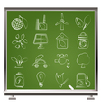 Environment and ecology Icons vector image vector image