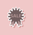 fashion patch sale sticker label shopping vector image vector image