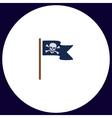 Jolly Roger computer symbol vector image vector image
