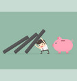 money protection vector image vector image