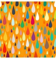 pattern with water or paint drops vector image