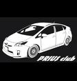 Prius club LOGO vector image vector image
