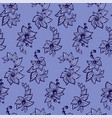 seamless pattern in blue colors in graphic with vector image