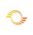 swirl abstract logo vector image vector image