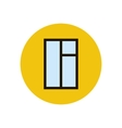 Window frame vector image