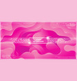 abstract dynamic liquid gradient background vector image vector image