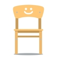 children chair vector image vector image