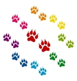 Colorfull icons set vector image
