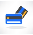 credit cards icon design element vector image