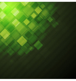 Dark green technical background vector image