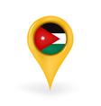 Location Jordan vector image