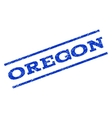 Oregon Watermark Stamp vector image vector image
