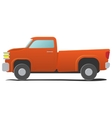 Pickup - cartoon car vector image vector image