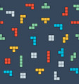 retro game seamless pattern background vector image vector image