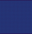 seamless pattern blue on navy blue vector image vector image