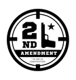 second amendment to us constitution to permit vector image