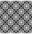 Seamless geometric pattern Monochrome endless vector image