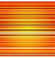 Abstract retro stripes orange color background vector image