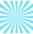 Blue white rays poster vector image
